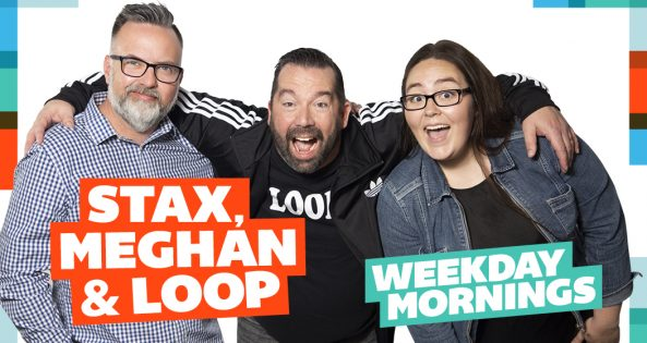 JACK Mornings with Stax, Meghan and Loop